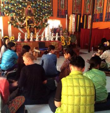 Посвящение -16 апреля (Универсальная Йога и буддистские практики. Непал)