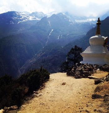 Намче и переход в Кумджунг (Универсальная Йога и буддистские практики. Непал)