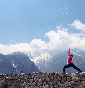 Горы и Намче (Универсальная Йога и буддистские практики. Непал)
