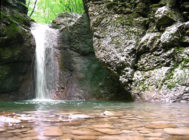 Малый каньон Крыма